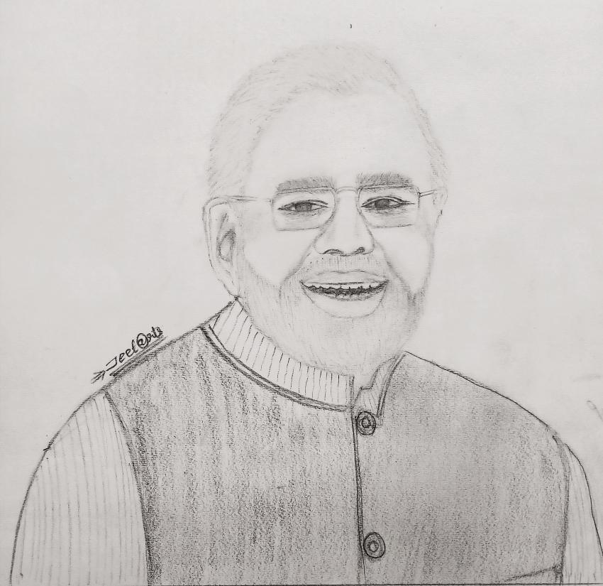 Narendra Modi por Jeet@rts